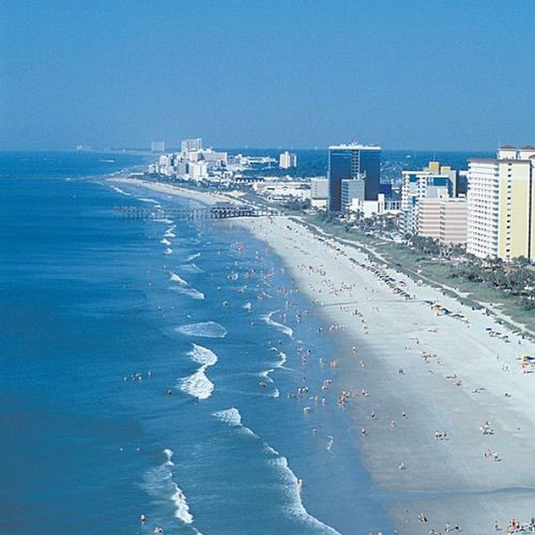 Myrtle Beach has 15 Million